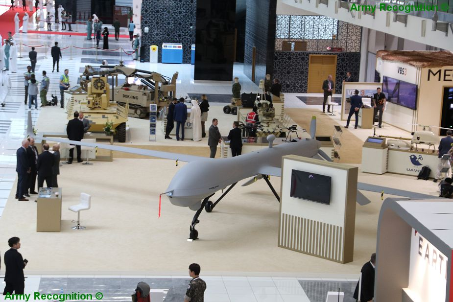 Today opening of UMEX 2018 Unmanned Systems Exhibition in Abu Dhabi UAE 925 001