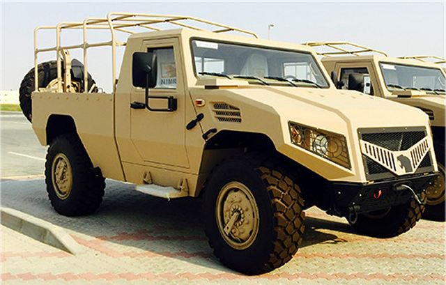 Ajban 420 4x4 tactical logistic utility military vehicle Nimr Automotive UAE United Arab Emirates defense industry 640 001