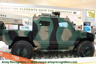 Ajban Class 440A 4x4 wheeled light tactical protected vehicle United Arab Emirates right side view 001