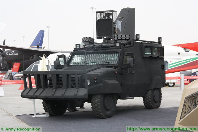 Ajban ISV 4x4 Internal Security Vehicle NIMR Automotive UAE United Arab Emirates defense indusry 640 001