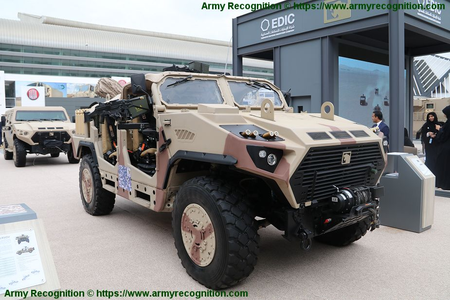 AJBAN LRSOV Long Range Special Operations Vehicle NIMR Automotive United Arab Emirates defense industry 925 001