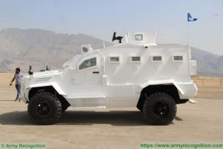 Guardian Xtreme APC 4x4 MRAP Mine Resistant Ambush Protected vehicle IAG United Arab Emirates left side view 001