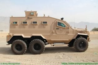 Guardian Xtreme APC 6x6 MRAP Mine Resistant Ambush Protected vehicle IAG United Arab Emirates right side view 001