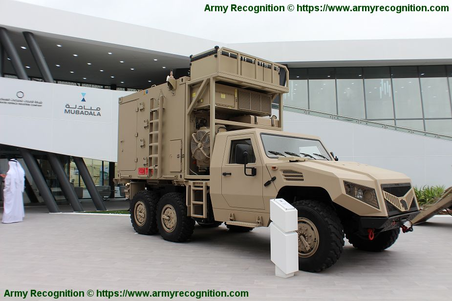 Hafeet 620 S 6x6 tactical Logistic and utility vehicle two man cabin NIMR Automotive UAE United Arab Emirates 925 001