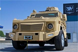 INKAS 200 4x4 light APC armored personnel carrier vehicle technical data sheet specifications pictures video description information intelligence photos images identification United Arab Emirates Automotive army defence industry military technology
