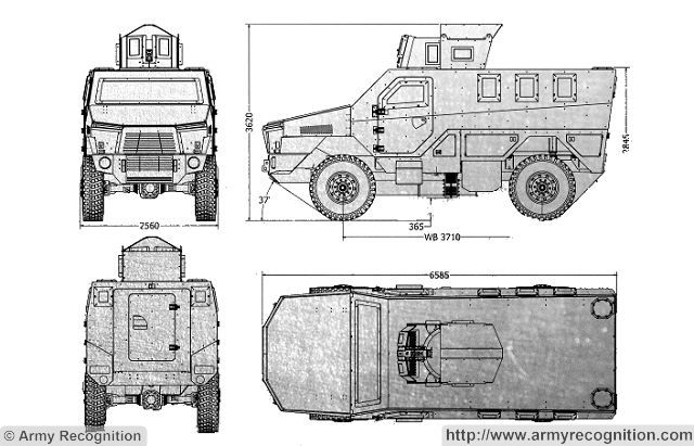 Legion Isotrex 4x4 MRAP Mine-Resistant Ambush Protected vehicle
