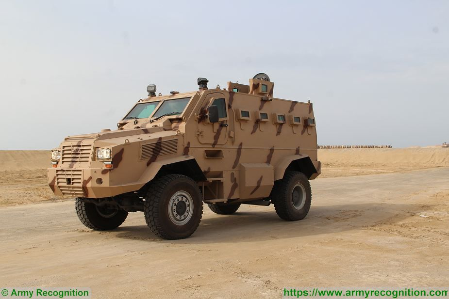 Rila 4x4 MRAP Mine Resistant Ambush Protected vehicle APC personnel carrier IAG United Arab Emirates 925 001