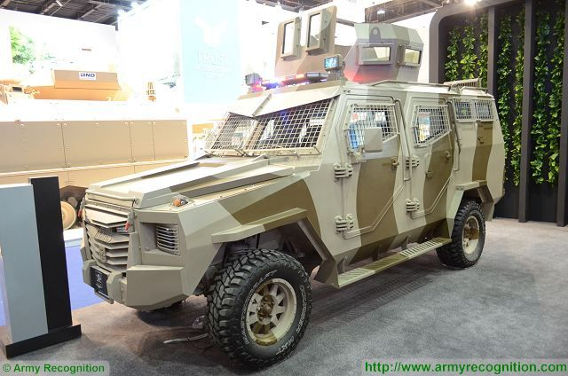 Titan S APC 4x4 armoured vehicle personnel carrier INKAS UAE defense industry 003