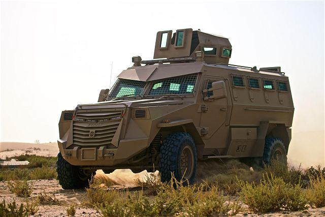 Titan V 4x4 V hull APC armoured personnel carrier vehicle Inkas United Arab Emirates defense industry 008