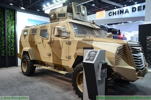 Titan APC 4x4 armoured vehicle personnel carrier INKAS UAE defense industry 640 001