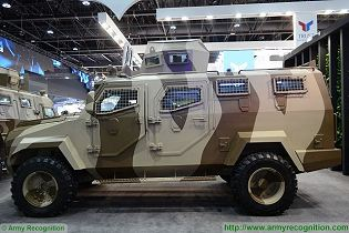 Titan Inkas 4x4 APC armored personnel carrier vehicle technical data sheet specifications pictures video description information intelligence photos images identification United Arab Emirates Automotive army defence industry military technology