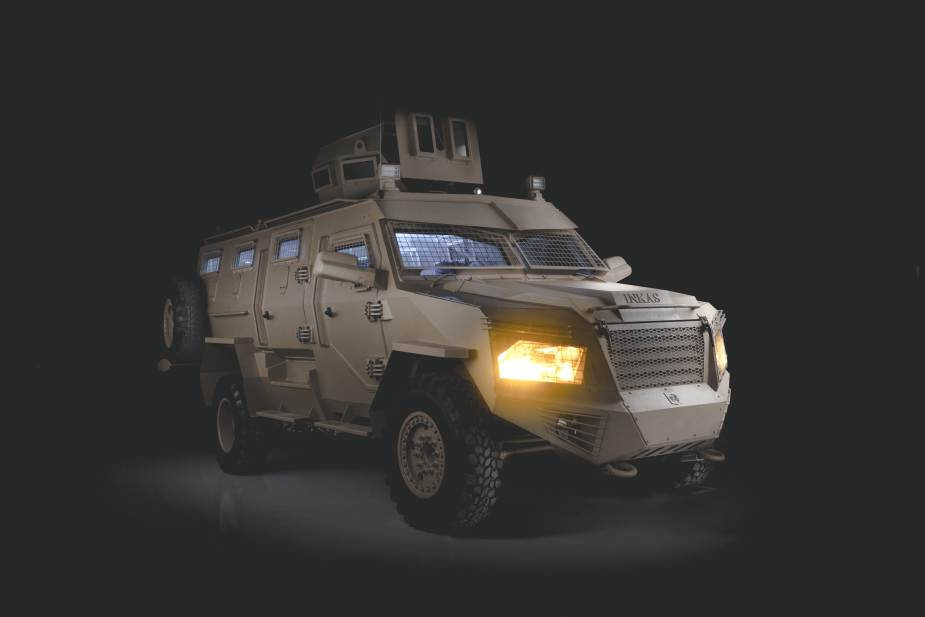 Titan DS 4x4 APC armored personnel carrier INKAS UAE 925 002