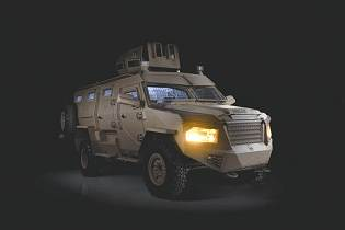Titan DS 4x4 APC armored personnel carrier INKAS UAE right side view 001