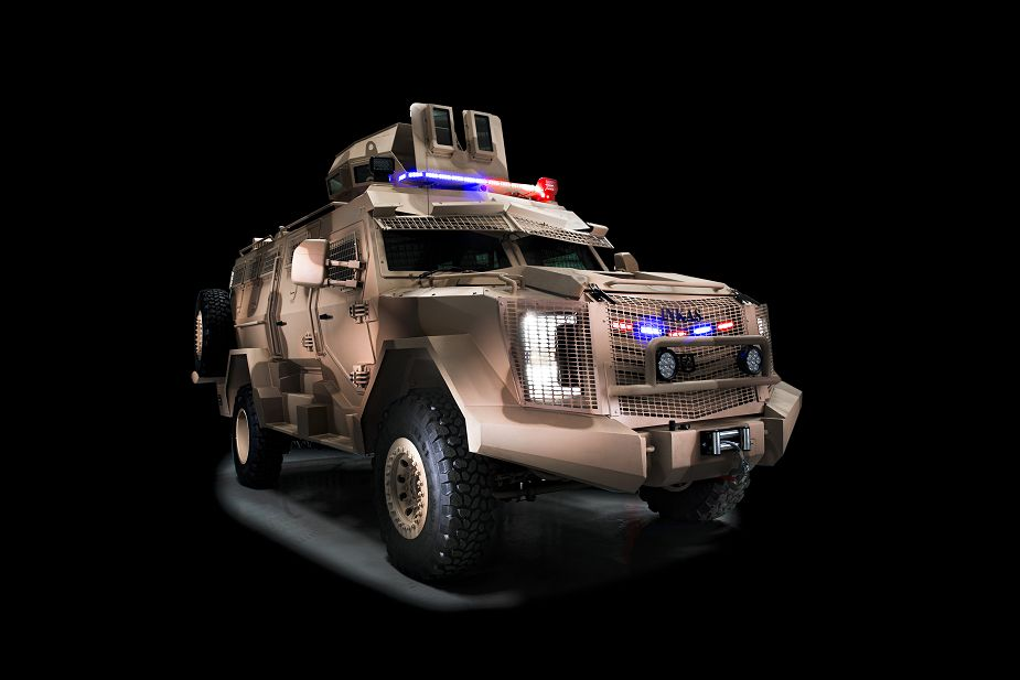 Titan V 4x4 V hull APC armoured personnel carrier vehicle Inkas United Arab Emirates defense industry 925 001
