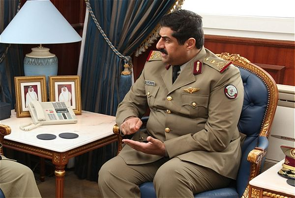 Qatar's Armed Forces Chief of Staff Major General Hamad bin Ali al-Attiyah underlined his country's willingness to boost mutual cooperation with Iran in defense fields. Speaking at a meeting with General Alireza Nasseri, a senior commander of the Islamic Revolution Guards Corps (IRGC) naval forces, in Doha on Friday, al-Attiyah said that Qatar is ready to hold joint land and sea military drills with Iran in the Persian Gulf.