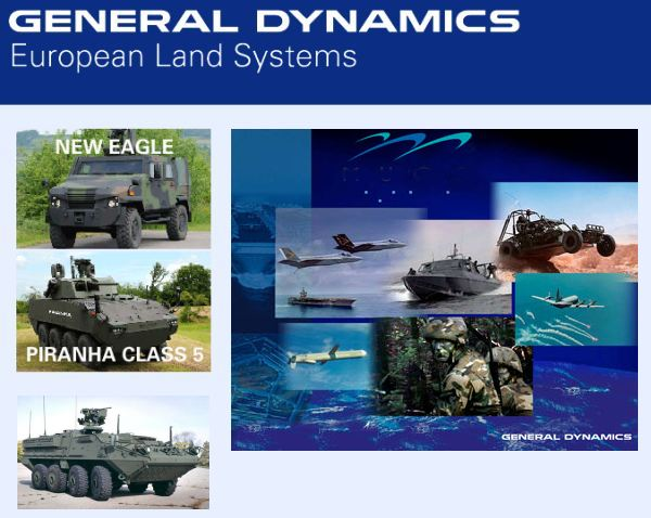 General dynamics awarded four year ammunition contract by for Amo manufacturing spain
