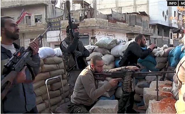 Most of the Syrian fighters waging a guerrilla war against the regime of President Bashar al-Assad are ill equipped -- short on guns, ammunition and with no heavy weapons. Baba Amr the first city in Syria control by the Free Syrian Army fighters.