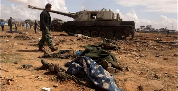 American, British and French forces have attacked Libya from the sea and from the air to stop Colonel Gaddafi's offensive on the rebel-held east of the country. The U.S. missiles hit at least 20 of Libyan 22 targets on Saturday March 20, 2011, the U.S. Africa Command said.