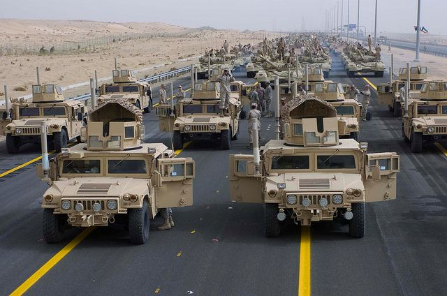 The United States administration plans to build up the American military presence in the Persian Gulf after it withdraws the remaining troops from Iraq by the end of this year, The New York Times reported on Sunday, referring to diplomatic sources.