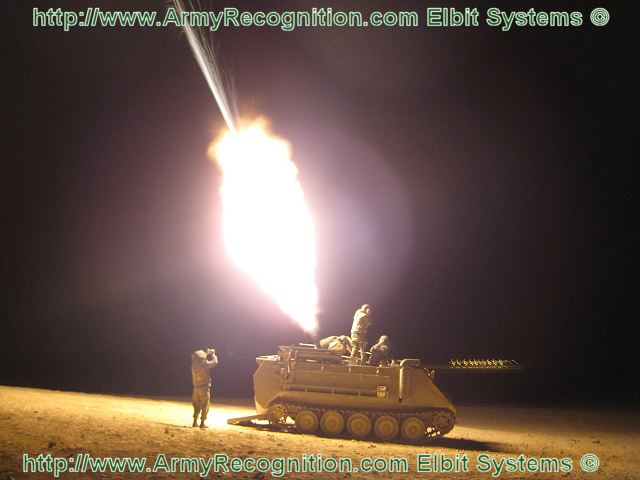 Mortar Fire Control System : Elbit systems to supply israeli army with cardom mortar