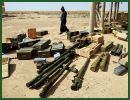 Egyptian security forces have made their biggest ever smuggled arms bust, intercepting over 120 rockets and other supplies. The seized weapons, presumably on their way to the Gaza Strip, originated in neighboring Libya, smugglers say.