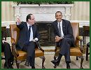 "Visiting French President Francois Hollande said at the White House on Friday, May 18, 2012, that he stood by the pledge to withdraw French forces from Afghanistan by the end of 2012. ""I recalled to President Obama that I had made a promise to withdraw our combat troops from Afghanistan at the end of 2012,"" Hollande said after meeting with U.S. President Barack Obama."