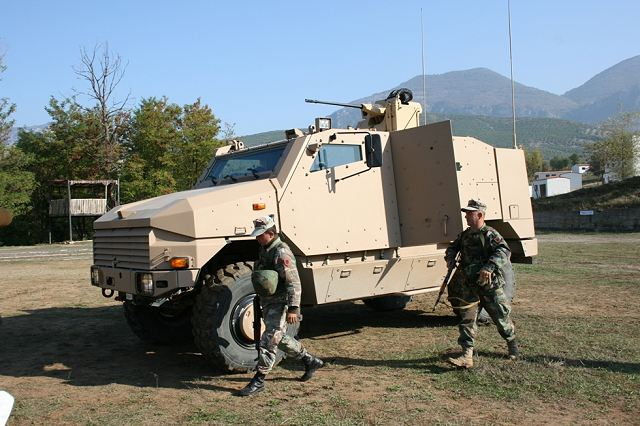 "Meanwhile, the coordinator of the AAF Land Forces Command with the French company ""NEXTER Systems"", Major Armand Shtëmbari, informed that, in cooperation with the company, was conducted a two week training with a staff of 40 people, consisting of 12 troops from the 2nd Infantry Battalion, 11 troops from the Special Forces Battalion, 11 troops from the Commando Battalion and 6 troops from Military Police Battalion."
