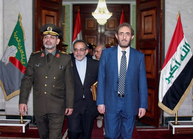 On Thursday, October 4, 2012, the Iranian Minister of Defense and his Iraqi counterparts, Brigadier General Ahmad Vahidi and Saadoun al-Dulaimi, respectively, signed a document of bilateral cooperation in the defense field. According to the paper, the execution of these agreements will deepen even further the relations of the two countries.