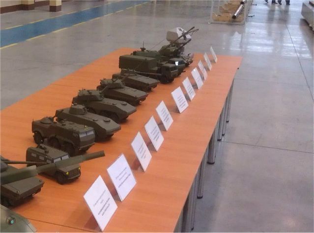 The Russian army will be soon equipped with a wheeled tanks produced locally, said Friday, September 28, 2012, in an interview with RIA Novosti, the commander of the Army Vladimir Tchirkine.