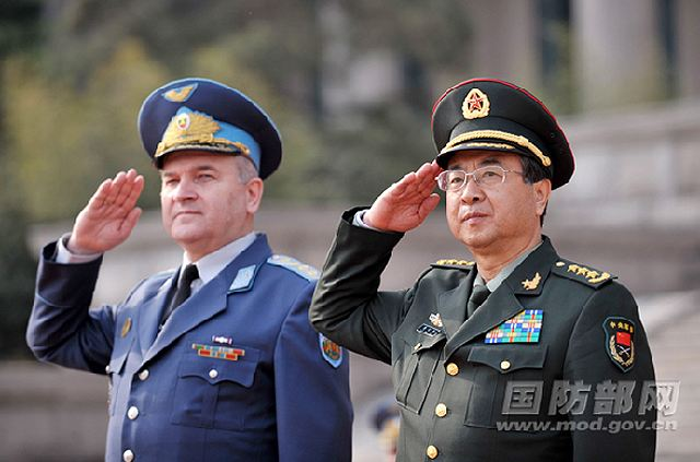 Fang Fenghui, chief of general staff of the Chinese People's Liberation Army (PLA), pledged here yesterday the Chinese PLA would boost cooperation with the Bulgarian military to raise the military-to-military ties between the two countries to a new high.