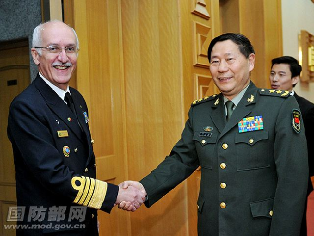"The third meeting of the Joint Commission on the Exchanges and Cooperation between Chinese and Brazilian Defense Ministries (hereinafter referred to as the ""Joint Commission"") was held on the morning of April 17, 2013 in Beijing."