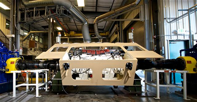 "BAE Systems' Ground Combat Vehicle (GCV) Hybrid Electric Drive (HED) system successfully completed 2,000 miles of testing on a fully integrated ""Hotbuck"" mobility platform, a significant milestone for the U.S. Army's GCV program."