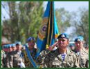 During the meeting in the Kazakh capital on Tuesday, Iranian Military Attache in Astana Hamzeh Rouhi Kabarg and Commander of Kazakhstan's Army Ground Force Murat Maikeyev underlined the need for the further expansion of mutual military cooperation between Iran and Kazakhstan.