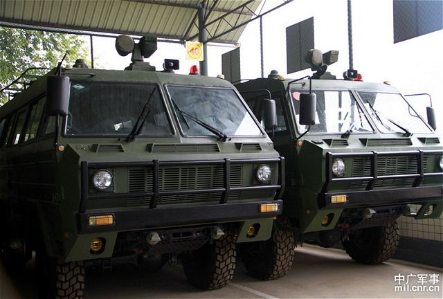 Chinese army takes delivery of new military equipment and vehicles to patrol border of the country. PAPF (People's Armed Police Force) border security forces guard China's land and sea borders, as well as its ports and airports.
