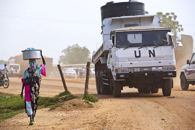 "Japan will continue to join the UN peacekeeping mission in South Sudan, a government spokesman said Wednesday, December 25, 2013. ""We will continue to contribute to the nation-building of South Sudan along with the international society,"" Chief Cabinet Secretary Yoshihide Suga told a press conference."
