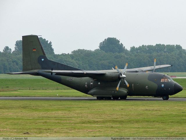 Germany Would Send Two Transport Aircraft Transall