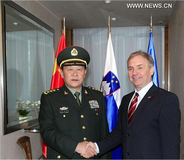 Slovenia meets Chinese Defense Minister to discuss ...