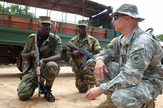 United States Will Send Military Trainers To African