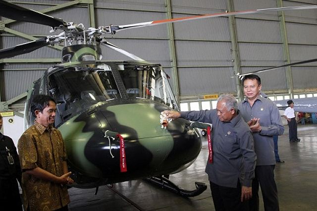 Indonesia's state-run aircraft manufacturer PT Dirgantara Indonesia (PTDI) has secured another contract to produce 16 Bell 412 EP helicopters for the military worth 170 million U.S. dollars, a senior PTDI official said on Friday, March 15, 2013.