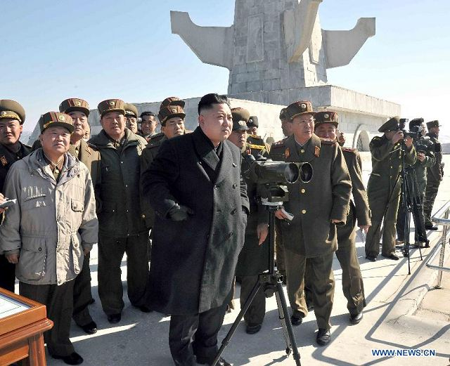 The Korean Central News Agency (KCNA) reports that the leader of the Democratic People's Republic of Korea (DRPK), Kim Jong Un, has supervised a live artillery drill close to a disputed sea border with South Korea. Meanwhile, Seoul is conducting its own routine drills near the demilitarized zone at the border of the two countries, in addition to joint military drills with the US.