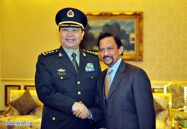 Brunei and China to discuss bilateral military ties for ...