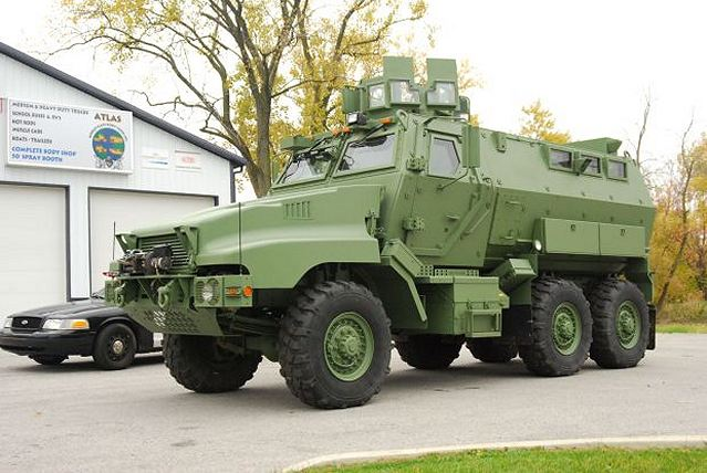 Caiman 6x6 MRAP vehicle was recently acquire by by the Northwest Regional SWAT team of United States. Merrillville police Cmdr. Robert Wiley, a Northwest Regional SWAT team leader, said the vehicle is bulletproof and it can withstand blasts from many types of explosive devices.