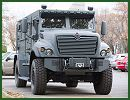 Montreal police of Canada have shown off the latest addition to their crime-fighting arsenal — a $360,000 armoured vehicle they say has been in development for the past 11 years. This new 4x4 armoured vehicle is manufactured by the Company Navistar.