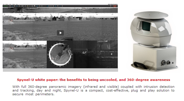 Hgh Infared Systems Introduces Spynel U 360 176 Thermal