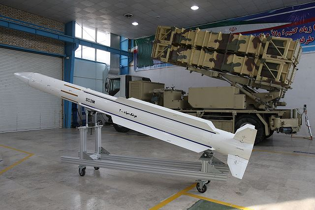 Iran Has Designed New Powerful S 200 Surface To Air
