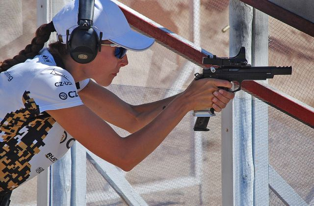 International Championship of Canada in IPSC shooting was held last week in Vancouver. Andrej Hrnciarik fought the gold medal in PRODUCTION Division, Martina Šerá stood on the winner's podium for gold in OPEN Division in Ladies Category.