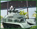 The Venezuela army has modernized the French-made AMX-13 (APC-VTT) tracked armoured vehicle personnel carrier with new Russian-made turret MB2-04 armed with a 2A42 30mm automatic cannon and one 30mm automatic grenade launcher AGS-17.