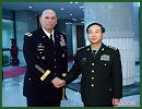 "The United States is working with China to establish institutional dialogue between their two armies, Ray Odierno, the U.S. Army chief of staff, said here Saturday, February 22, 2014. ""It is a very important first step,"" Odierno told reporters, noting that the dialogue is the first time at institutional level and is ""more long-term and more long-standing."""