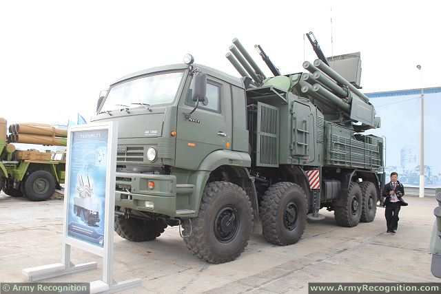 Brazilian President Dilma Rousseff told her Russian counterpart Vladimir Putin on Monday, July 14, 2014, that Brasilia was keen on obtaining air defense systems Pantsir-S1 (NATO code SA-22 Geyhound) from Moscow and cooperating on nuclear energy.