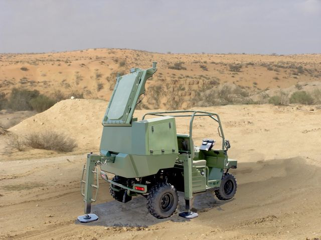 According to IsraelDefence.com, the mobile autonomous tactical counter Rocket, Artillery & Mortar (C-RAM) system supports and assists troops in Gaza to return fire at the source of mortar fire, which have become a significant threat.